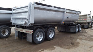 2004 Arnes Quad 25' Gravel Trailer