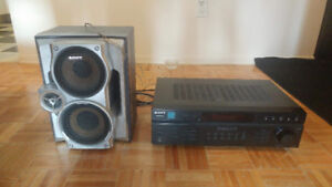 SONY AMPLIFIER STEREO RECEIVER! $80