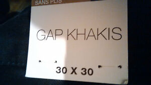 Dark Blue Gap KHAKIS W30 L30, NEW! only $20