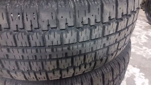 4 BFGoodrich Winter Slalom tires P205/70R15 Kitchener / Waterloo Kitchener Area image 4