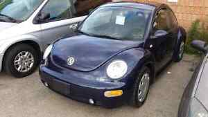 01 vw beetle only 106.000km very clean  safety and e-test inc. London Ontario image 3
