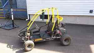 Dune buggy 136cc Power Kart Black Widow 4 stroke