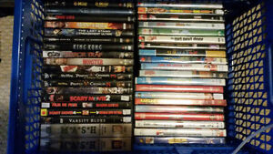 Lot of 140 Dvd's and about 20 T.v. Seasons