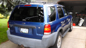 2007 ford escape XLT 4x4 $5200