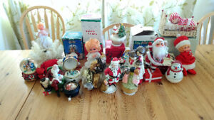 Christmas music box collection