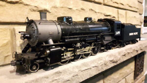 Aster live steam GN-S2 and NYC Hudson  locomotive train Gauge 1