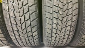 Excellent condition, set of 4 Toyo GO2 Plus snow tires and rims