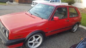 1992 golf rabbit GTI