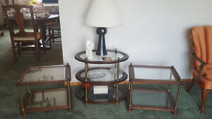 3 end tables for sale