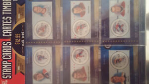 NHL Stamp Cards/Cartes Timbrées NHL