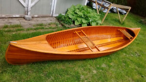14ft Cedar Strip Canoe