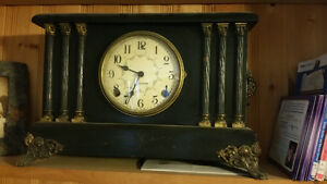Antique Sessions Clock $100