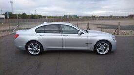 "BMW 7 SERIES 3.0 730d M SPORT 4 DOOR SALOON 2009 ""59"" REG 66,000 MILES FSH MEGA SPEC 12 MONTHS MOT"