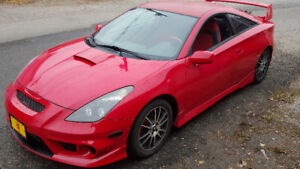 2002 TRD Celica GT, 5spd, 187500kms. Open to Trades