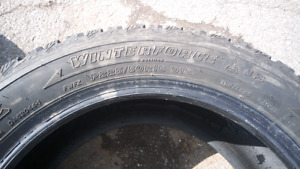 2 winter tires- almost new!