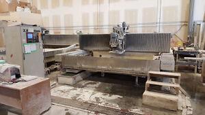 GRANITE/MARBLE/QUARZ BAVELLONI EGAR 320-4 CNC WORK CENTER