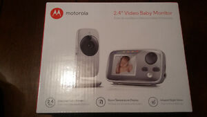 BRAND NEW MOTOROLA VIDEO BABY MONITOR