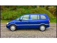 7 SEATER, Vauxhall Zafira 1.6, Very Long MOT, Full Service History