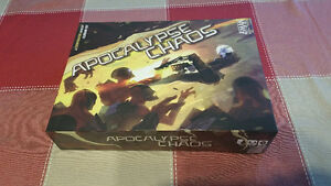 Apocalypse chaos  board game.. badly damaged box West Island Greater Montréal image 1
