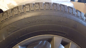 Selling Set 4 X 235/70R16 on Sacchi Alloy Rims