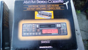 SPARKOMATIC CASSETTE PLAYERS NEW $50.00