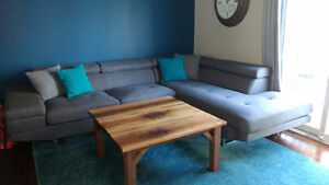 MOVING!! Large Grey SECTIONAL