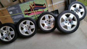 17 inch AUDI Wheels and tires