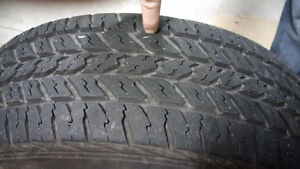 Tires 225/60r16 4 tires on rims