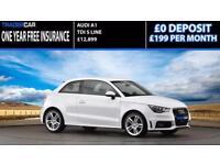 Audi A1 1.6TDI 2014 S Line - FREE INSURANCE