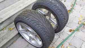 Mustang 17x8 factory mags (rims only)