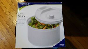 Progressive salad spinner NEW