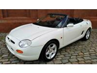 MODERN CLASSIC MG MGF 1.8i SOFT / HARD TOP CONVERTIBLE * ONLY 21,000 MILES *