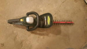 corded hedge trimmer