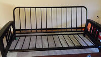 Futon frame for sale with futon included.