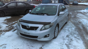 2009 TOYOTA COROLLA S ONE OWNER!!!
