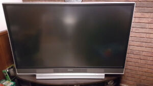 "Hitachi 55"" LCD projection TV"