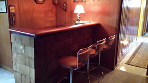 Bar 6'long 4 Barstool Oakville / Halton Region Toronto (GTA) image 2