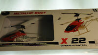 x22 Infrared Controlled Toy RC Helicopter