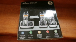 GE wireless home phones (NEW SEALED IN BOX)