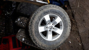 Dodge ram 1500 rims & tires