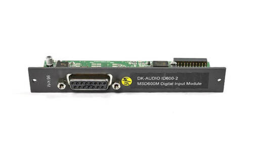 DK-Audio MSD600M Input ID600-2 AES3 Input Module for MSD600++