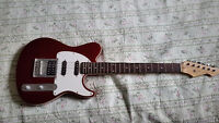 Electric Guitar and Small Amp (Peavey Generation EXP guitar)