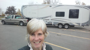 Six weeks hook-up for a fifth wheel
