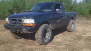 lifted 1999 Ford Ranger 3.0 5 speed 4x4 SWB