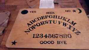 1944 Ouija Board. All pieces, instructions and packaging.