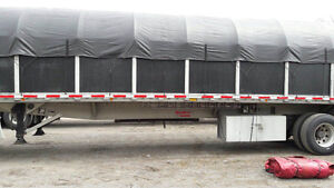 48' FLAT BED TRAILER FOR SALE