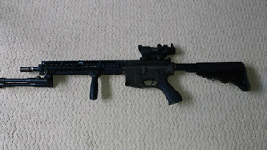 King arms aeg fully upgraded great deal!