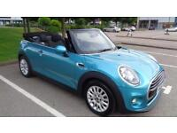 2016 MINI Convertible 1.5 Cooper 2dr (start/stop)
