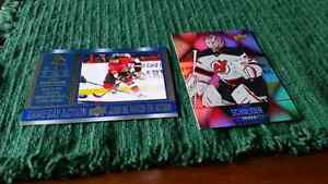 Hockey cards up for trade for others I don't have