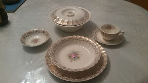 American Limoges Rosalie china